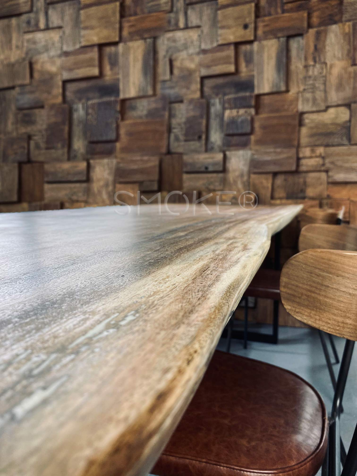 Handcrafted Wooden Dining Table